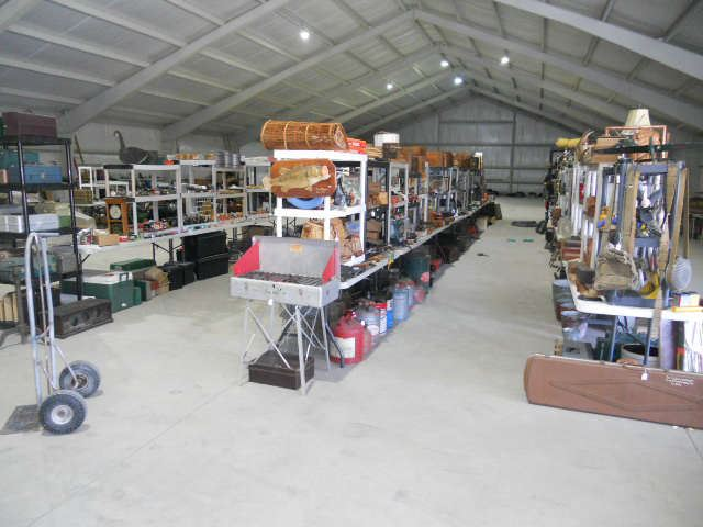 Rows and Rows Of Vintage Items