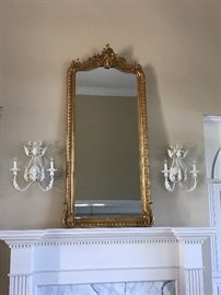 Mirror approx 6' by 3'