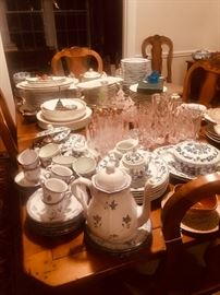 English and French porcelain