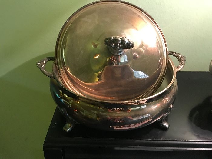 Silver plate item