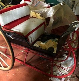 Sleighs and carriages