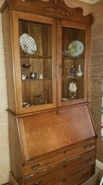 Much antique and modern furniture