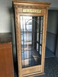 1960s Telephone booth with seat and coin operated telephone purchased by owner in South Carolina