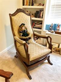Vintage Gooseneck Chair