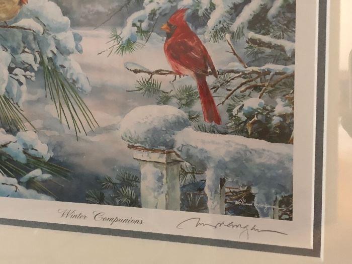 """William Mangum """"Winter Companions"""