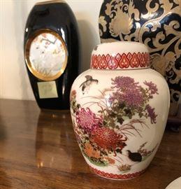 Assortment of Ginger Jars