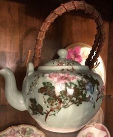 Assortment of Teapots