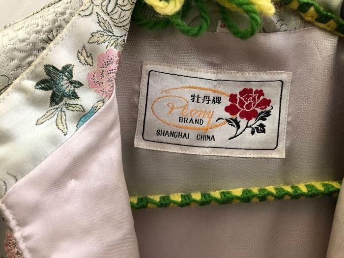 Women's Clothing Peony Brand Shanghai China