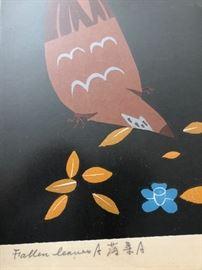 Fallen Leaves Signed by artist
