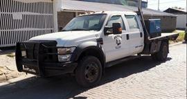 2008 Ford F-550 Flat Bed Truck, VIN # 1FDAW56R88EE19679