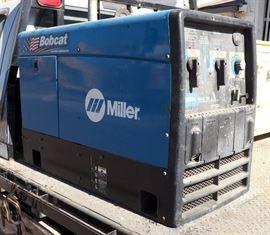 Miller Bobcat 250 AC/DC Welder / 11,000 Watt Generator