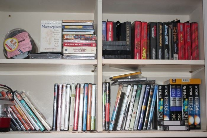 Books ,CDs, and Video Games