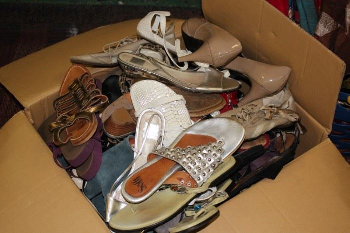 Assorted Women's Shoes (many Designer), Sandals and Sneakers