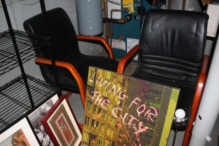 Assorted Art and Contemporary Chairs