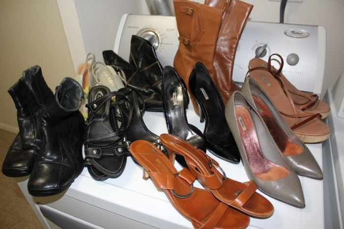 Loads of Women's and Men's Clothes, many Designer Shoes