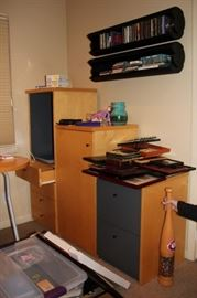 Assorted Office Furniture and Wall Storage