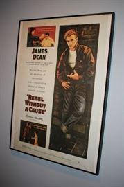 James Dean Framed Poster