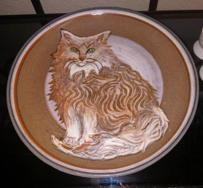 Plate handmade