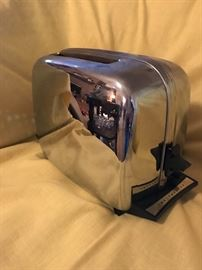 Vintage  Chrome Toaster  15.00