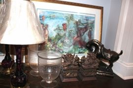 Lamp, Art and Decorative Items
