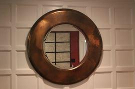 Round, Framed, Decorative Mirror