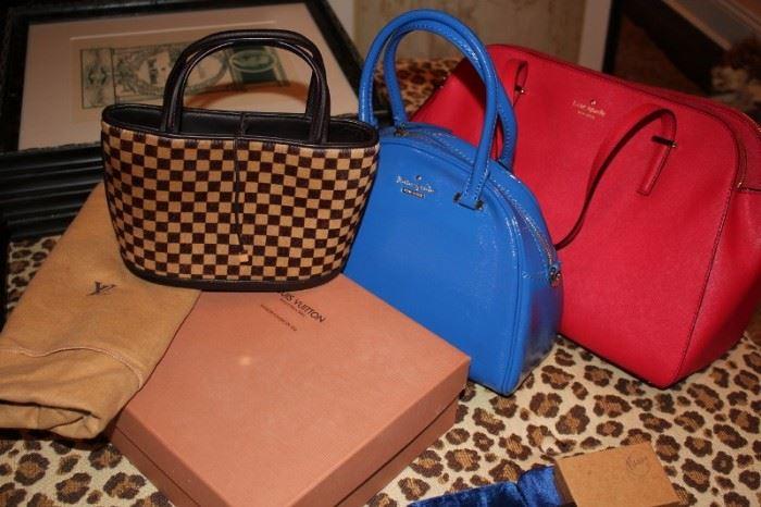 Assorted Designer Handbags