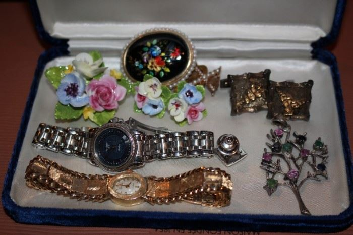 Costume Jewelry with Watches