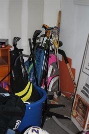 Golf and Hockey