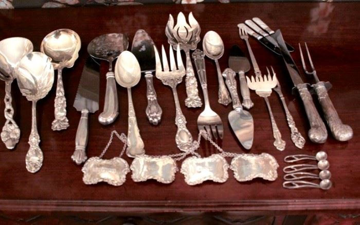 Gorham Sterling Flatware (service for 12) and Sterling Serving Pieces