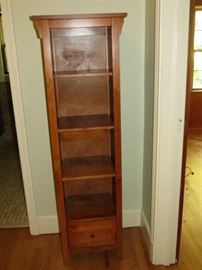 MISSION STYLE BOOK CASE.