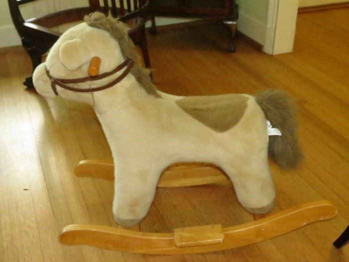 POTTERY BARN KIDS ROCKING HORSE.