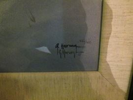 CIMMARON BY G. HARVEY.  LOOK HIM UP WE HAVE E LARGE SIGNES AND  NUMBERED PRINTS BY HIM.
