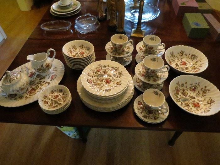50 PIECES JOHNSON BROTHERS CHINA.