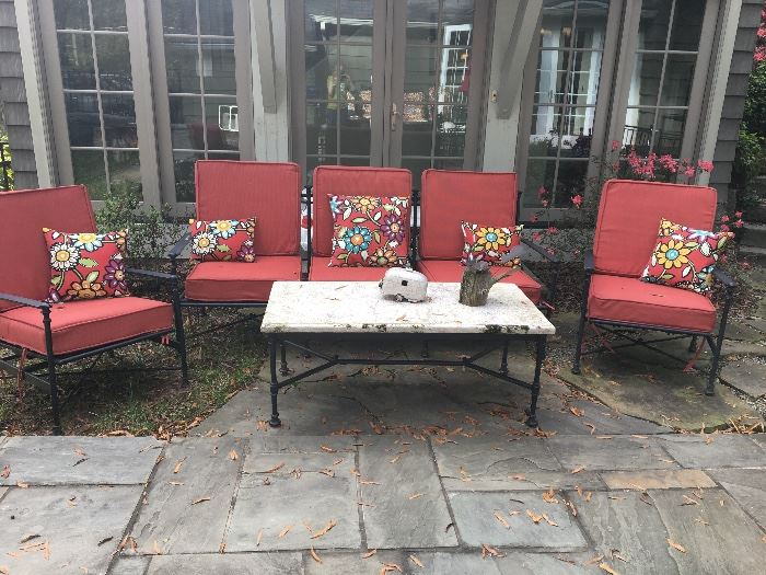 POTTERY BARN OUTDOOR FURNITURE.