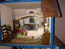Doll house bedroom master