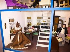 Doll house parlor