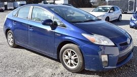 At 8PM: 2011 Toyota Prius Hybrid | Apx. 80K Miles; Synergy Drive; Blue Metallic Exterior, Gray Sport Cloth Interior; Power Windows, Locks, Mirrors; Steering Wheel Audio and Cruise Controls; AM/FM Stereo with CD & Satellite, and more! | VIN: JTDKN3DU2B0269273