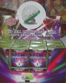 Cell Phone Disco Balls