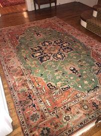 """Beautiful vibrant area rug 6' x 9'1"""" $1000"""