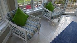 2 Wicker/Rattan Chairs