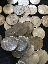 Part of silver hoard coming to market.