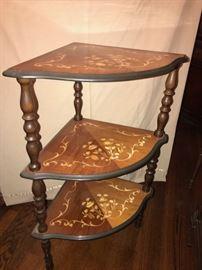 Italian style corner table