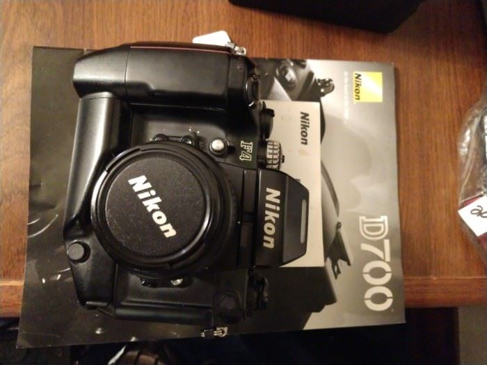 Nikon D700 camera