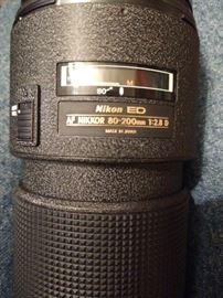 Nikon 80-200mm lens kit