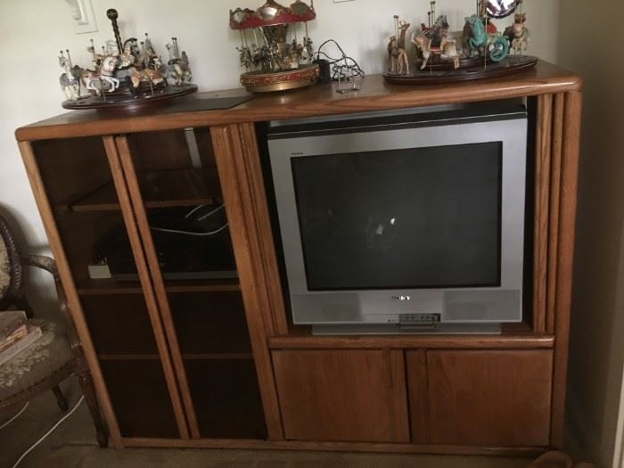 Entertainment Center - Sanyo TV