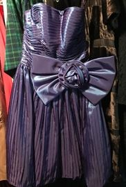 Fancy strapless gown