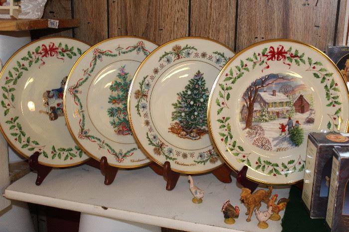 Lenox Around the World Christmas Tree Plates