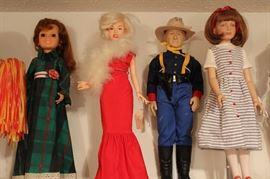 Crissy Ideal Doll, Effanbee Marilyn Monroe & John Wayne, Robert Tonner, Kaylie 160/500