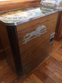1937 Buckley horse racing slot machine