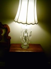 2nd large crystal lamp